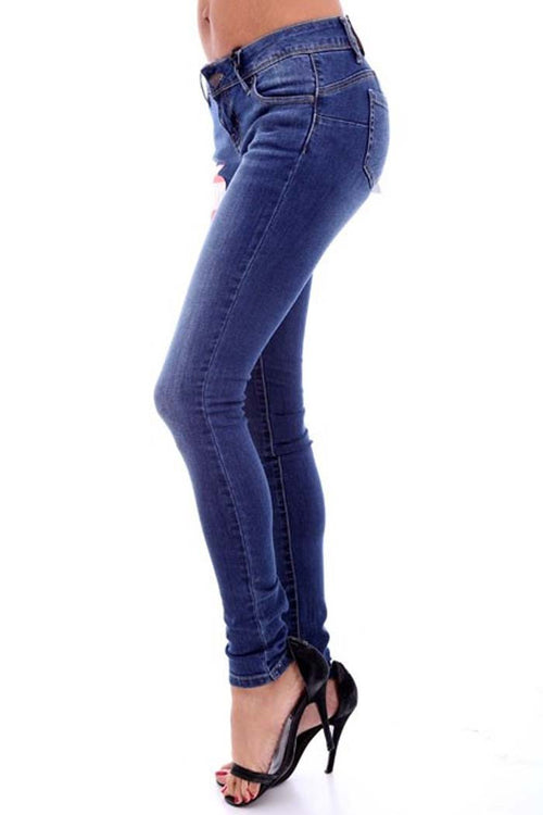 Skinny Denim Pants -  - GOZON