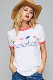Palm Trees Graphic Top - Graphic - GOZON