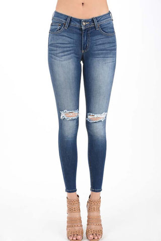 Gloria High-Rise Ankle Jeans