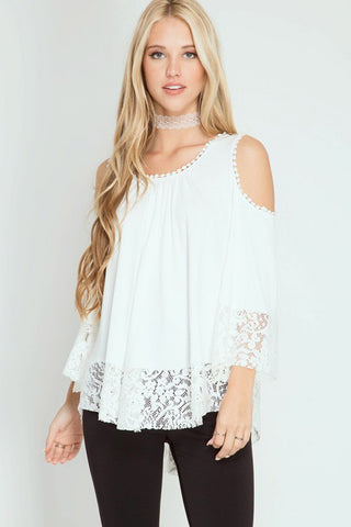 Alice Stripe Button Down Kint Top : Wine/Off White