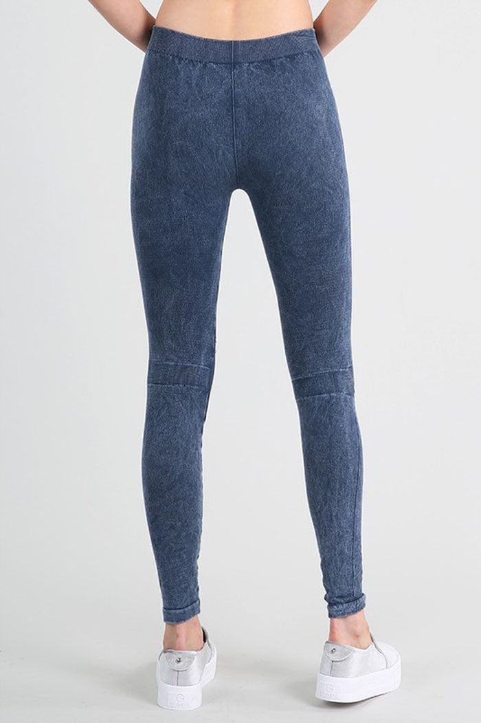 Stacey Modal Destroyed Jeggings : Charcoal