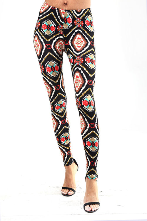 Multi Print Jeggings