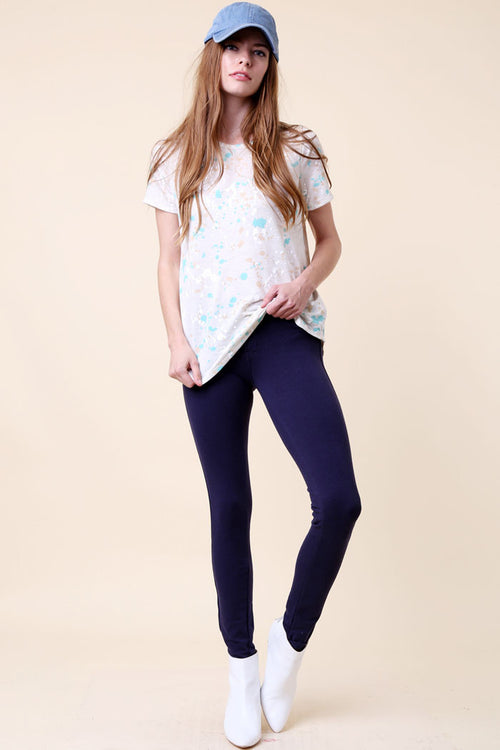 Contemporary Stretch Knit Jeans - pants - GOZON