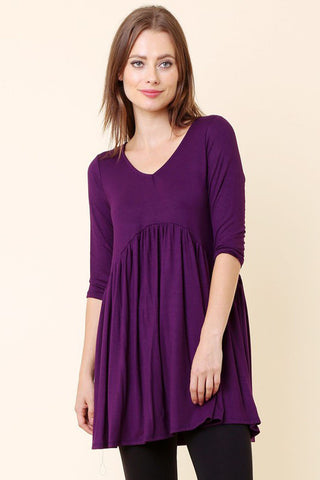 Side Tie Asymmetrical Dress