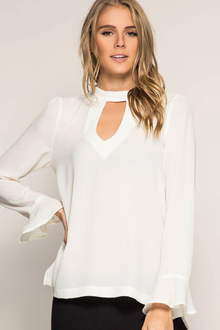 Elise Loose Tunic Top : Rose