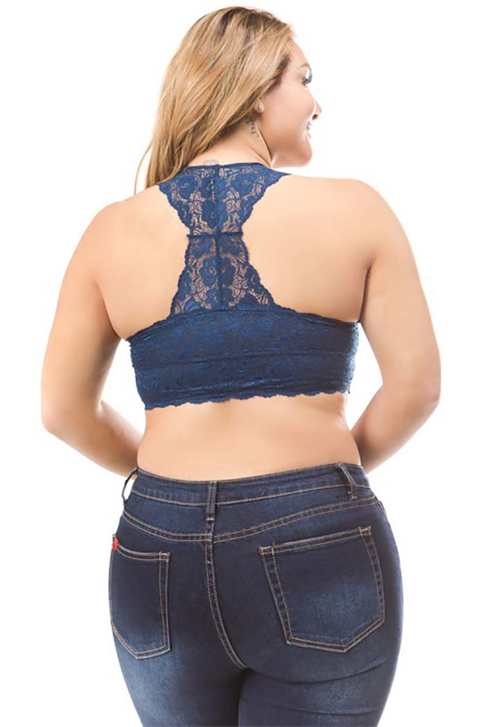 Mary Lace Racerback Bralette