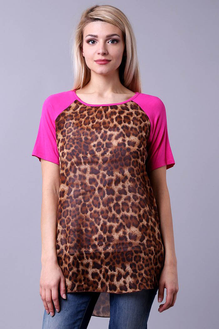 Animal Raglan Top