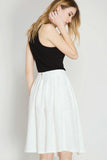 Lace Midi Skirt - Skirts - GOZON