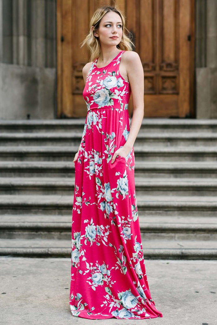 Frozen Floral Dress