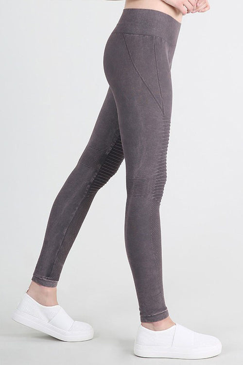 Vintage Moto Long Leggings : Shark