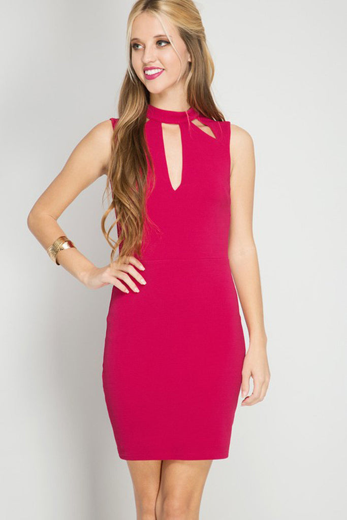 Bodycon Mini Dress - Mini - GOZON