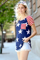 Cozy Flag Top - Shirts - GOZON