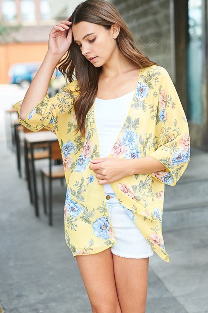 Secret Garden Floral Cardigan - cardigans - GOZON