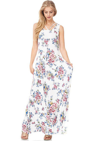 Blooming Floral Maxi Dress