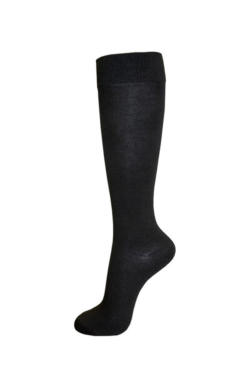 Polly Knee High Socks : Black