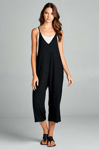 Kristy Striped Flare Leg Jumpsuits : Ivory/Black
