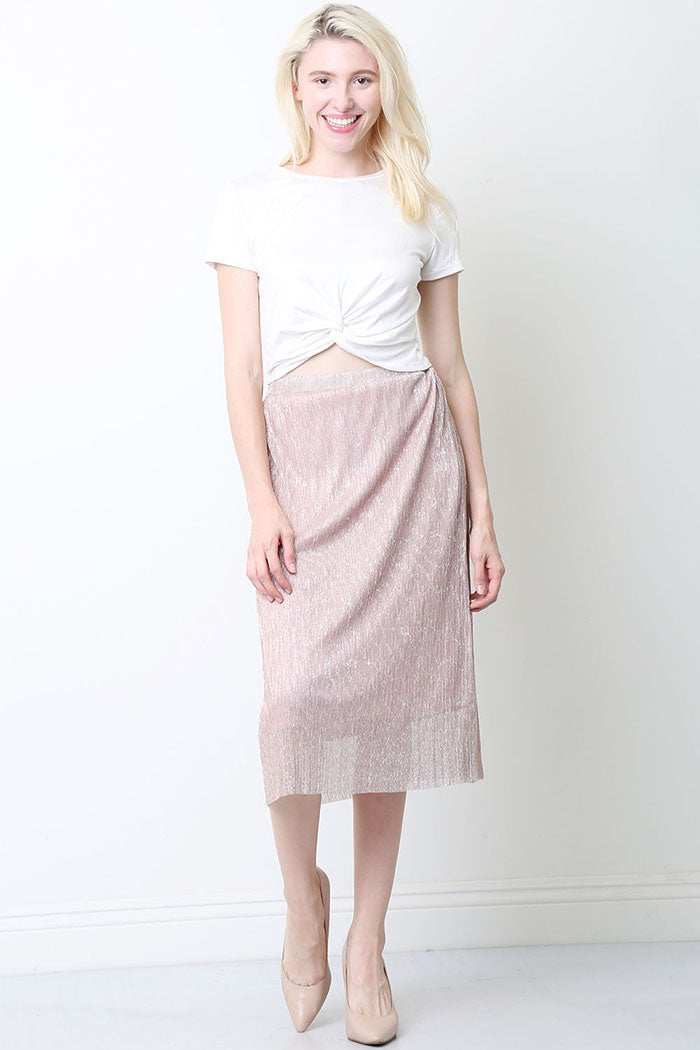 Sophia Accordion Pleat Skirt