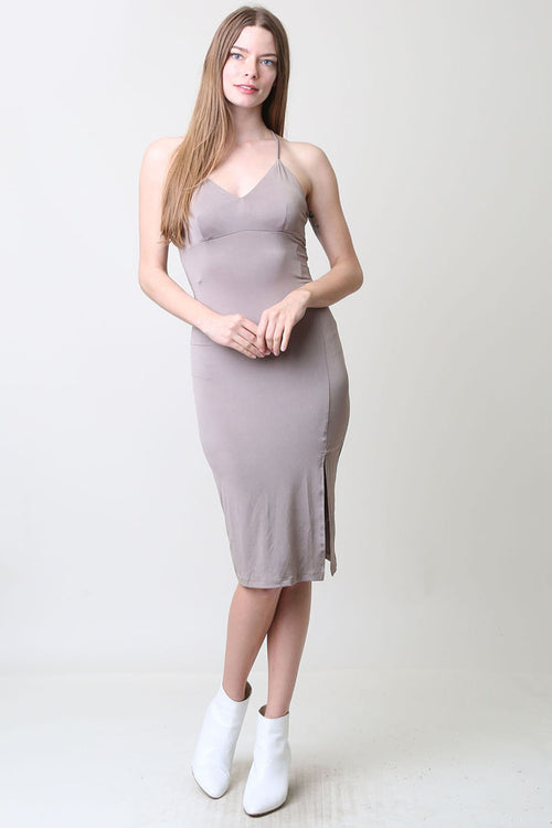 Solid Cami Dress