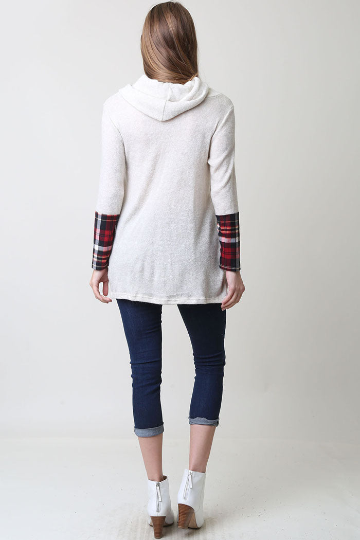 Reindeer Patch Tunic : Ivory
