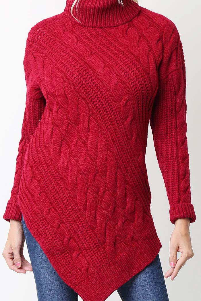 Savannah Turtle Neck Sweater