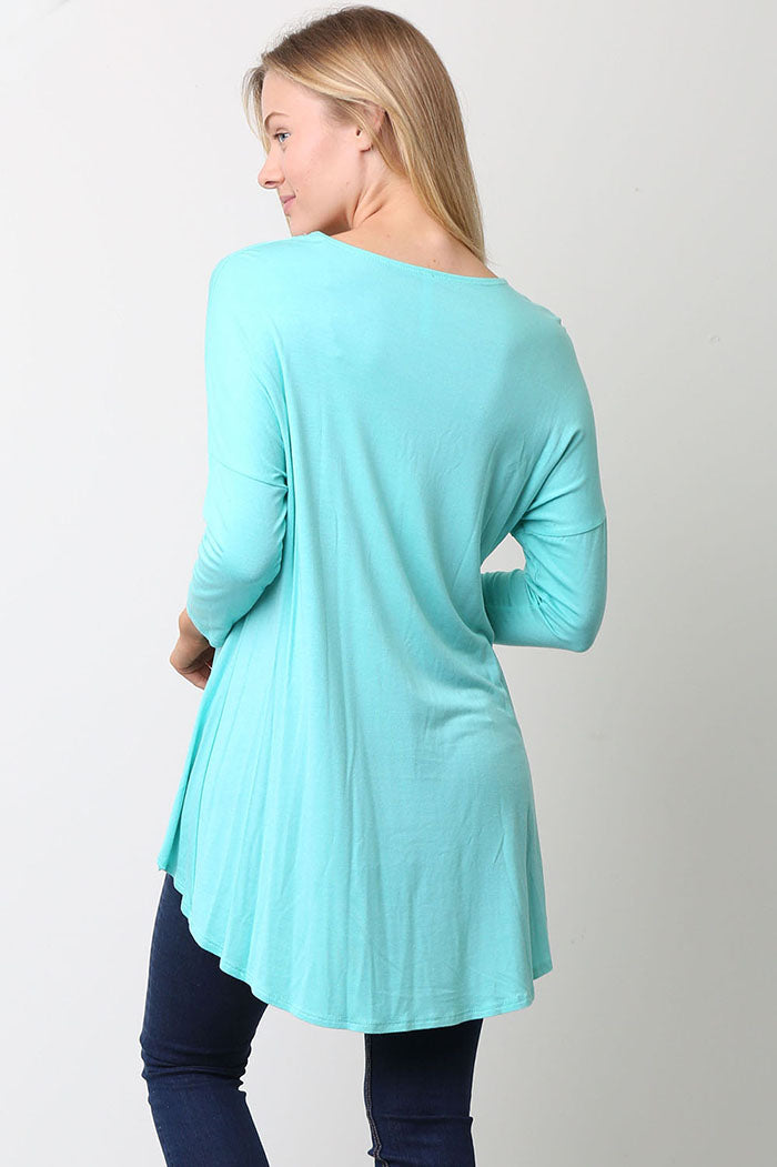 Skylar Long Sleeve Tunic Top