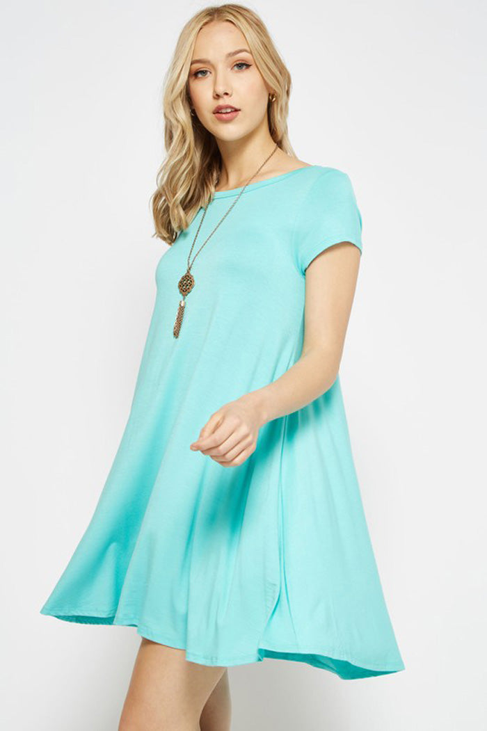 Medaline Basic Midi Dress : Mint