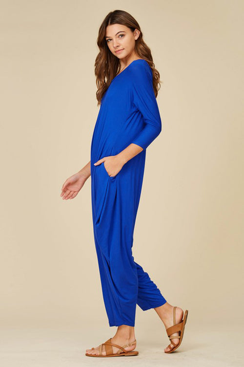 Olivia Harem Jumpsuits : Royal