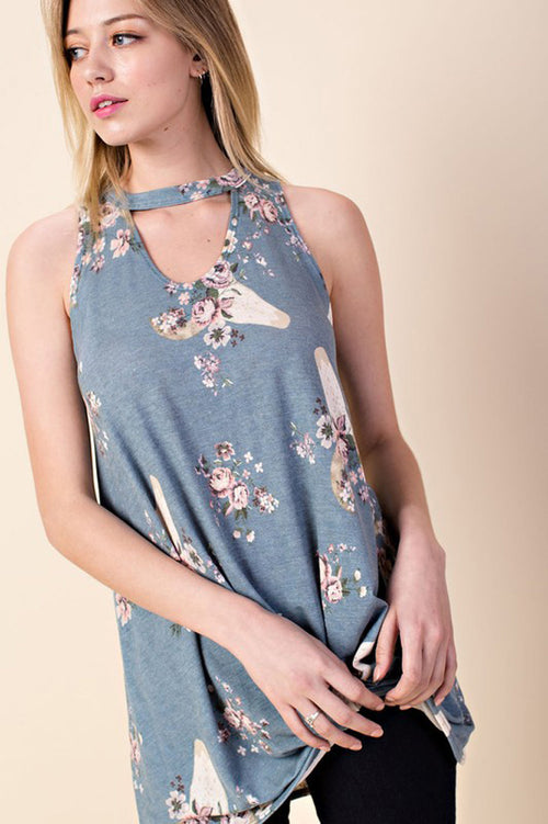 Rebecca Bull Sleeveless Top : Denim