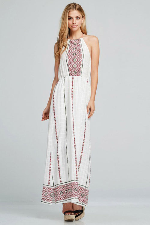 Bohemian Maxi Dress - maxi - GOZON