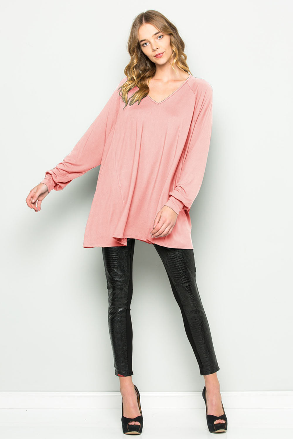 Bishop Sleeve Tunic - tunics - GOZON