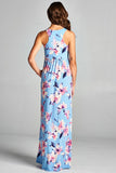 Floral in the Sky Maxi Dress - Maxi - GOZON