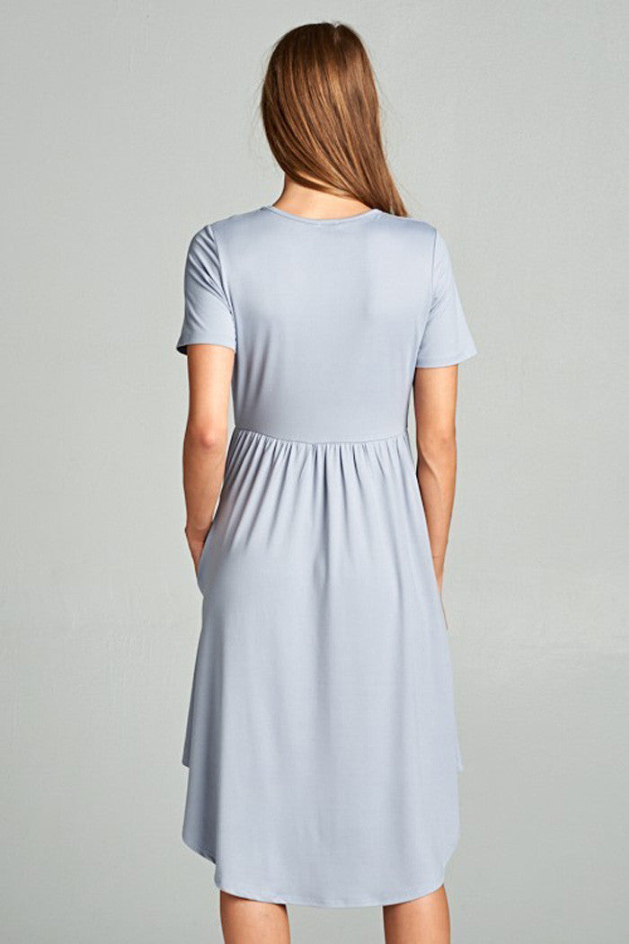 Babydoll Casual Midi Dress - midi - GOZON