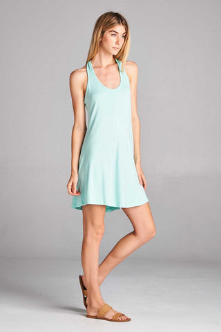 Racerback Mini Dress - Mini - GOZON