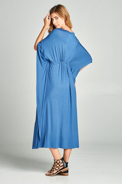 Everyday Poncho Maxi Dress