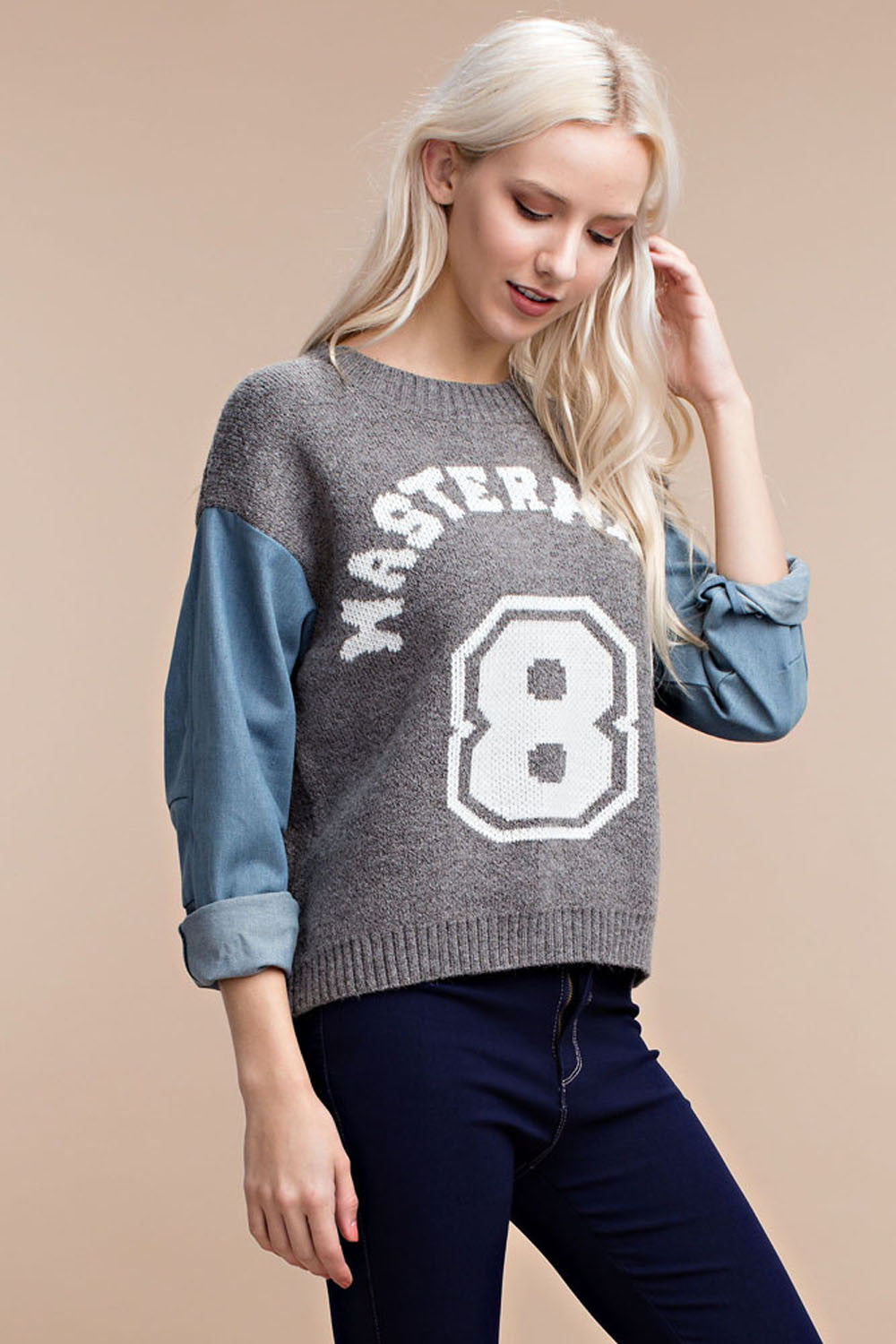 Mastermind Graphic Sweater - sweaters - GOZON