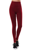 High Waist Wide Band Leggings - leggings - GOZON