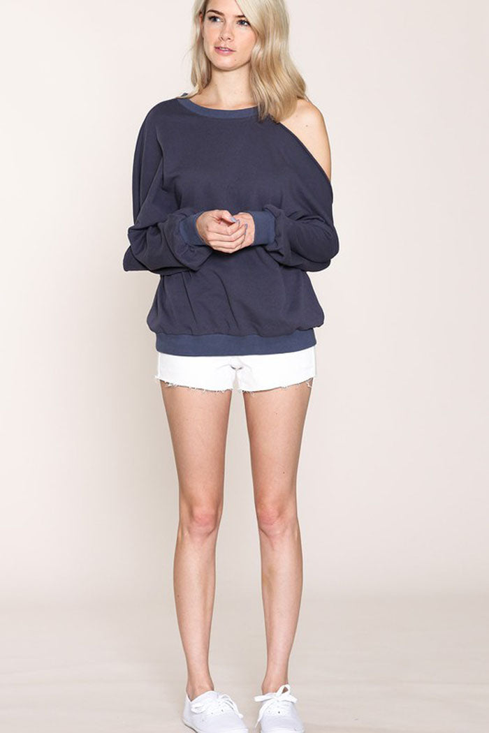 French Terry Sweatshirts : Navy
