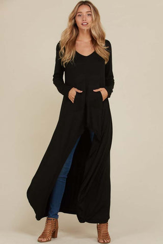 Alice Cold Shoulder Top : Black