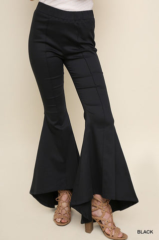 Willow Flare Leg Pants : Red