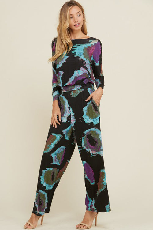 Jade Full-Length Jumpsuit : Black
