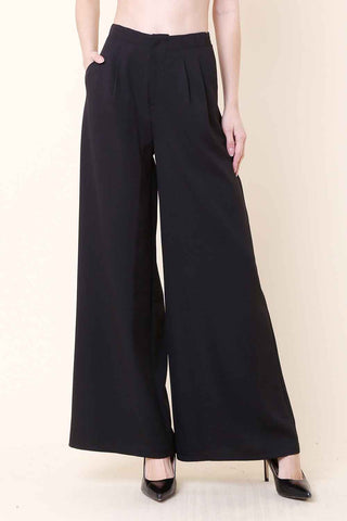 High Waist Editor Pants - pants - GOZON