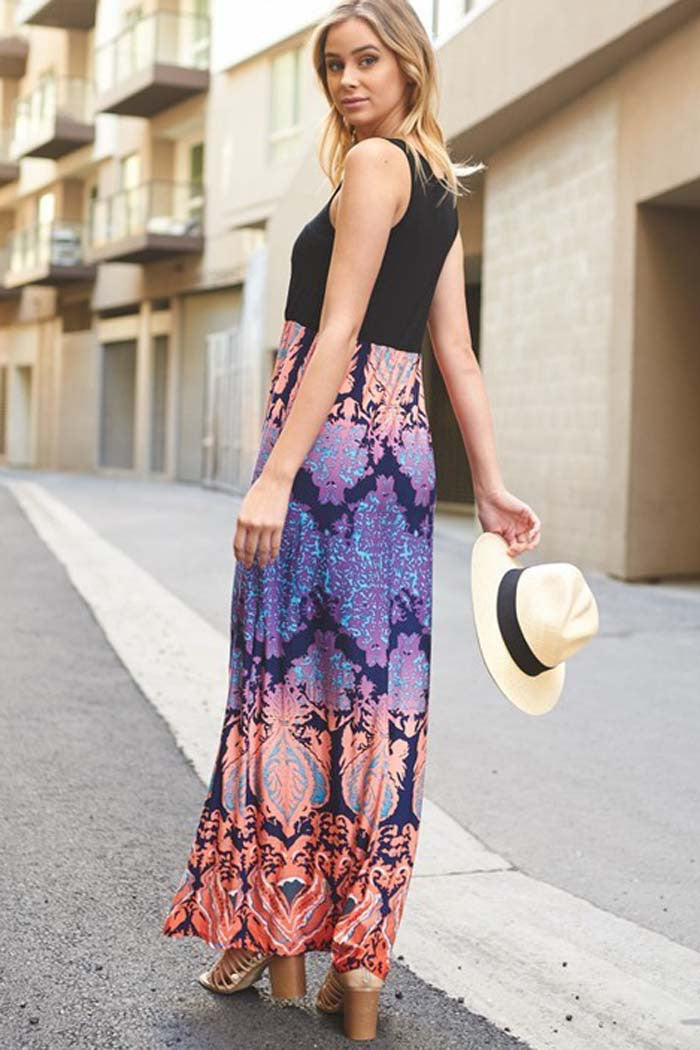 Bombshell Maxi Dress - maxi - GOZON