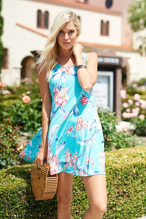 Blossoming Mini Dress