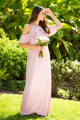 Lovely Maxi Dress : Mauve