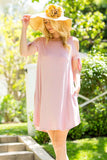 Bow Tie Sleeve Dress - Mini - GOZON