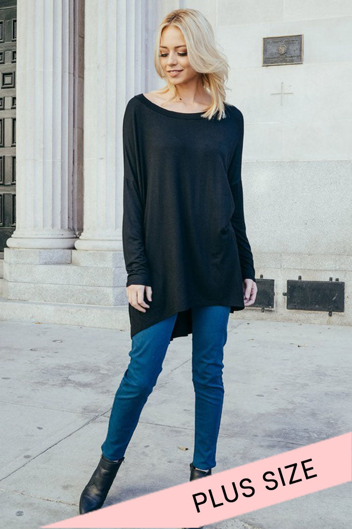 Daily Loose Tunic Top