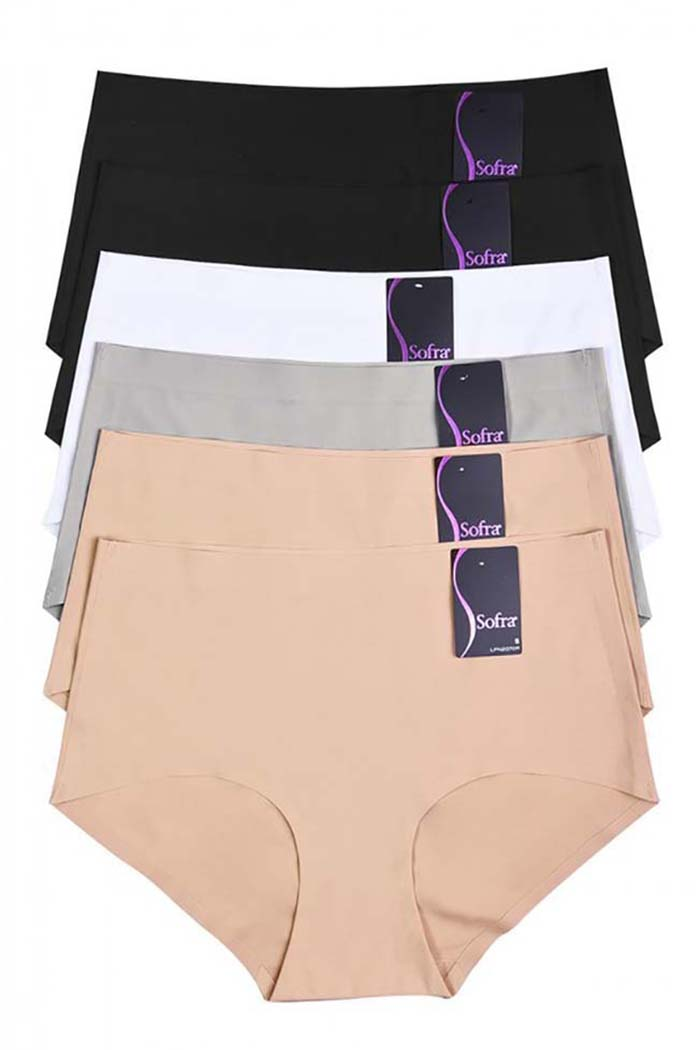 Adalynn Full Coverage Brief : Pack of 2
