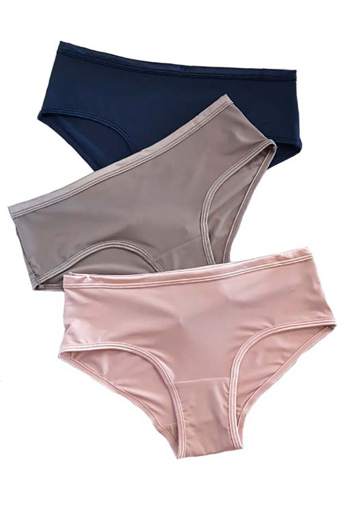 Aryanna Soft Basic Panty : Pack of 3.