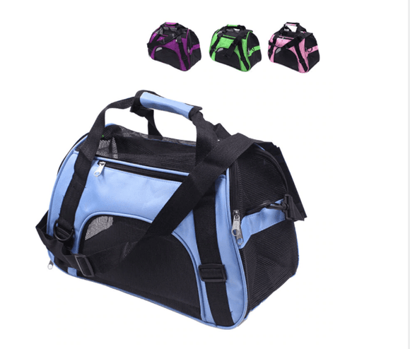 Portable Pet Carrier Bag For Cat Or Dog - Breathable Small Pet Handbag