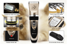 Professional Pet Dog Hair Clippers Rechargeable Grooming Tool with Extra Blade